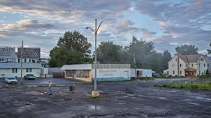 Redemption Center by Gregory Crewdson contemporary artwork