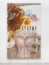 Third Body by Mandy El-Sayegh contemporary artwork painting, works on paper