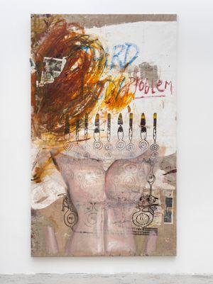 Third Body by Mandy El-Sayegh contemporary artwork