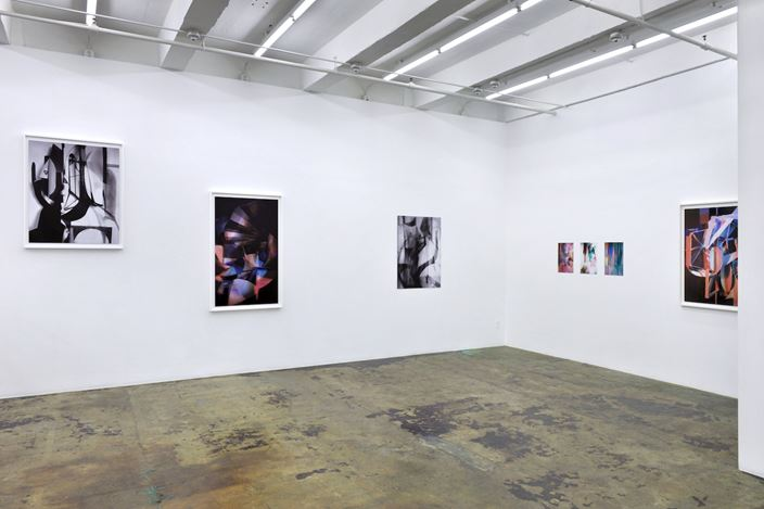 Exhibition view: Yamini Nayar, THREE SPACES for TIME, Thomas Erben Gallery, New York (13 February–28 March 2020). Courtesy Thomas Erben Gallery.