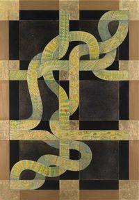 Omnium Gatherum 53 by Julia Morison contemporary artwork painting