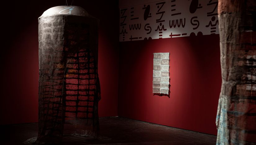 Exhibition view: Pyda Nyariri, Artist Room, SMAC Gallery, Cape Town (10 July 2021 - 7 August 2021). Courtesy SMAC Gallery.