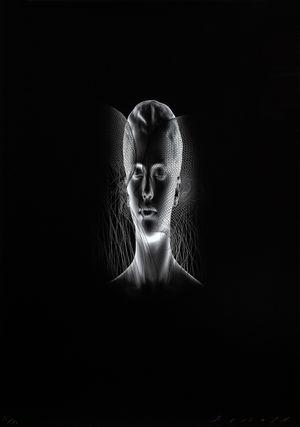 Aura II by Jaume Plensa contemporary artwork