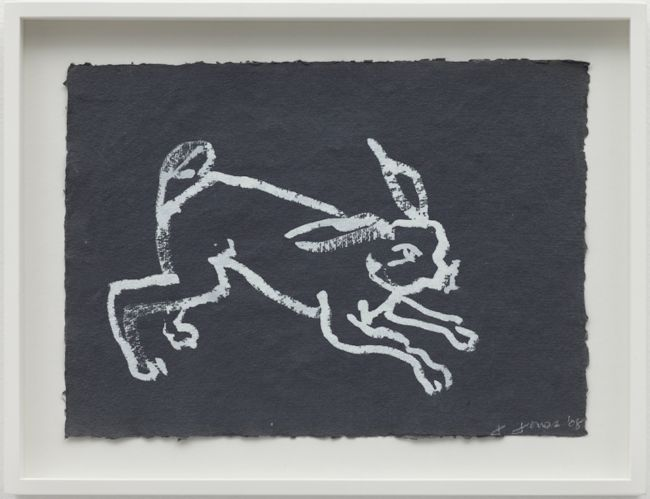 Rabbit, Reading Dante by Joan Jonas contemporary artwork