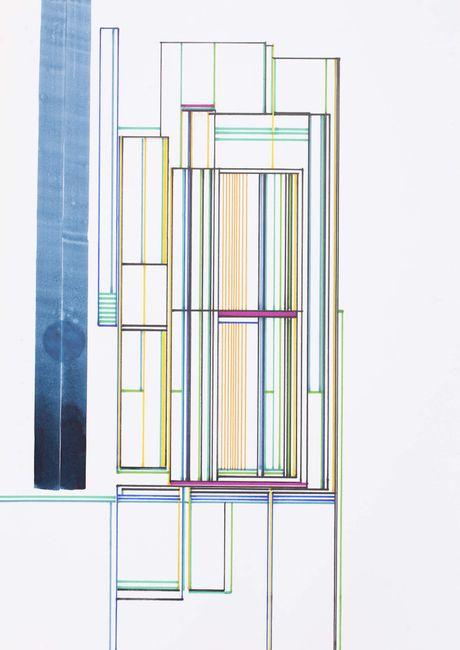 Réseaux by Xavier Veilhan contemporary artwork
