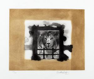 The Lion by Graham Sutherland contemporary artwork