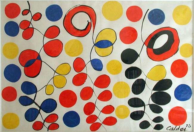 Guirlandes by Alexander Calder contemporary artwork