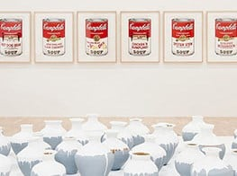 'Andy Warhol | Ai Weiwei' at The National Gallery Victoria