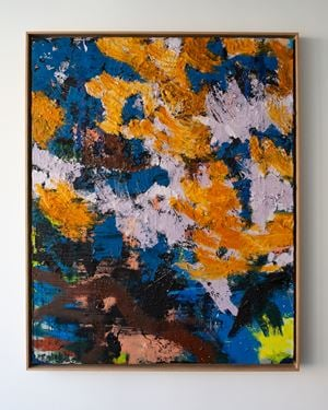 Lampedusa by Anthony White contemporary artwork