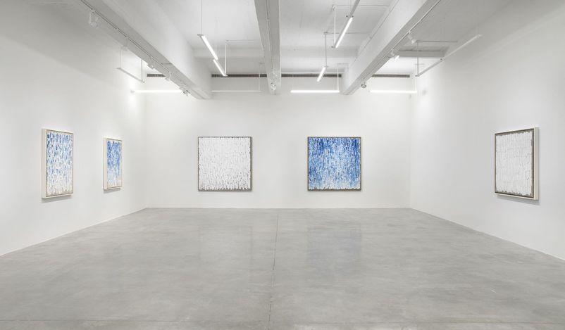 Exhibition view: Ha Chong-Hyun, Return to Color,Tina Kim Gallery, New York (8 May–30 June 2021). Courtesy Tina Kim Gallery.