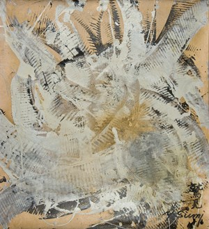 Untitled Gold Series n°3 by Yasuo Sumi contemporary artwork