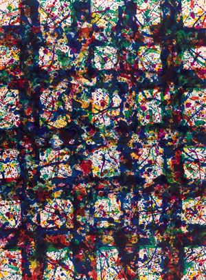 Untitled 5 by Sam Francis contemporary artwork