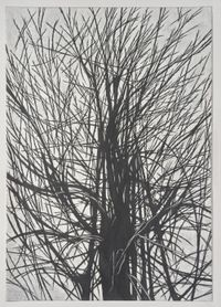 There is a crack in Everything #2 by Han Jin contemporary artwork works on paper, drawing