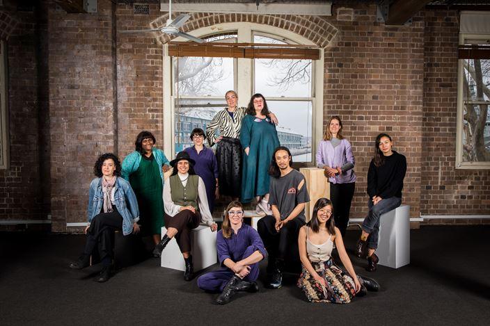 2019 NSW Visual Arts Emerging Fellowship Finalists. Photo: Anna Kucera