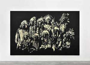We Worship The Good by Wes Lang contemporary artwork