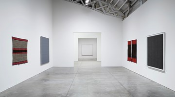 Contemporary art exhibition, Agnes Martin, Agnes Martin / Navajo Blankets at Pace Gallery, New York
