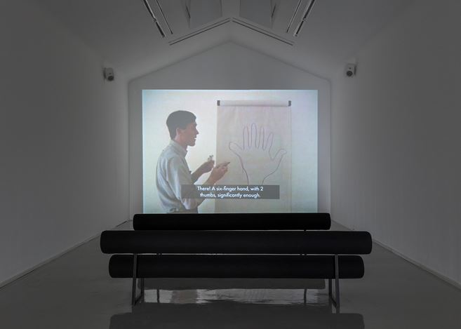 Exhibition view:Eric Duyckaerts, Homage to Eric Duyckaerts, Perrotin, Paris (7–21 September 2019).© Courtesy Eric Duyckaerts and Perrotin.Photo: Claire Dorn.