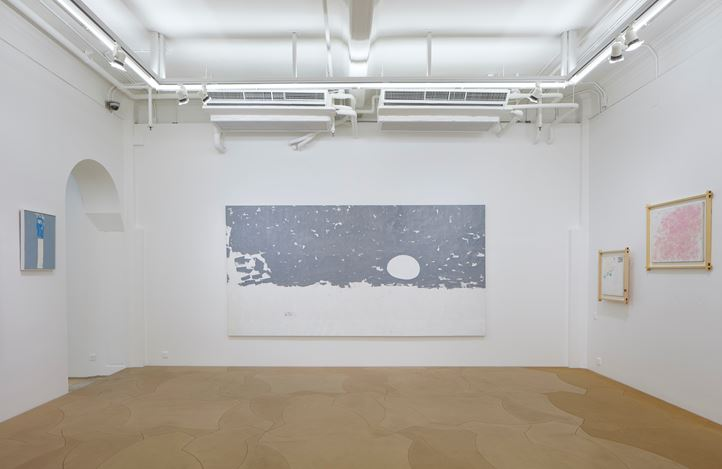 Exhibition view: Yeh Shih-Chiang, Edge of Sea and Sky 海天無垠, Hanart TZ Gallery, Hong Kong (22 March–3 June 2019). Courtesy Hanart TZ Gallery. Photo: Kitmin Lee.