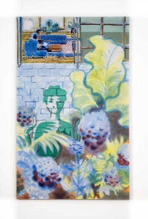 Garden Ghost by Miko Veldkamp contemporary artwork