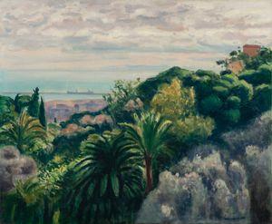 Jardin du palais d'été, Alger by Albert Marquet contemporary artwork