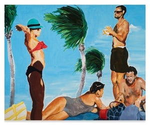 The Exchange by Eric Fischl contemporary artwork