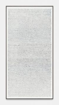 ICONOTEXTURE n°14/12bis by Thierry De Cordier contemporary artwork works on paper, drawing