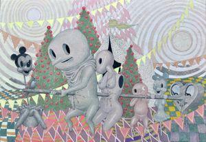 유랑단2 by Kwon, Soon-young contemporary artwork