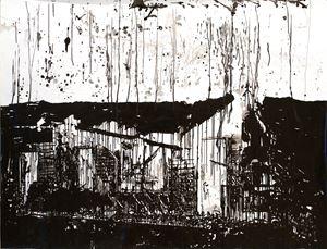 Camp Fire, Tears CA. 2018 by Monica Bonvicini contemporary artwork