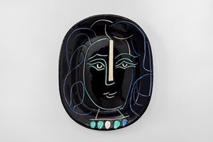 Woman's Face (Visage de femme) by Pablo Picasso contemporary artwork