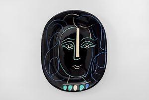 Woman's Face (Visage de femme) by Pablo Picasso contemporary artwork