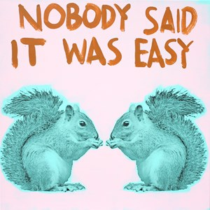 Nobody Said It Was Easy by Mike Chavez contemporary artwork