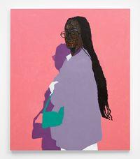 Green Handbag by Amoako Boafo contemporary artwork painting