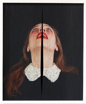 """Sin Dios - De la Serie """"Suplicantes"""" by Pablo Boneu contemporary artwork"""