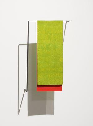 Green Red by Helen Calder contemporary artwork