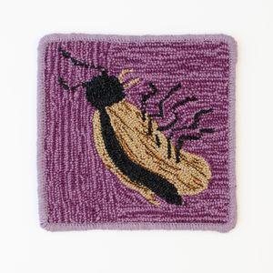 Roach Rug by Claudia Kogachi contemporary artwork