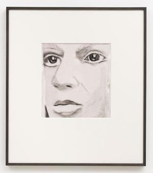 Facial Reconstruction by Luc Tuymans contemporary artwork