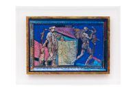 Intolerância-migrações by Anna Bella Geiger contemporary artwork painting