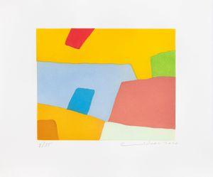 Désordre by Etel Adnan contemporary artwork