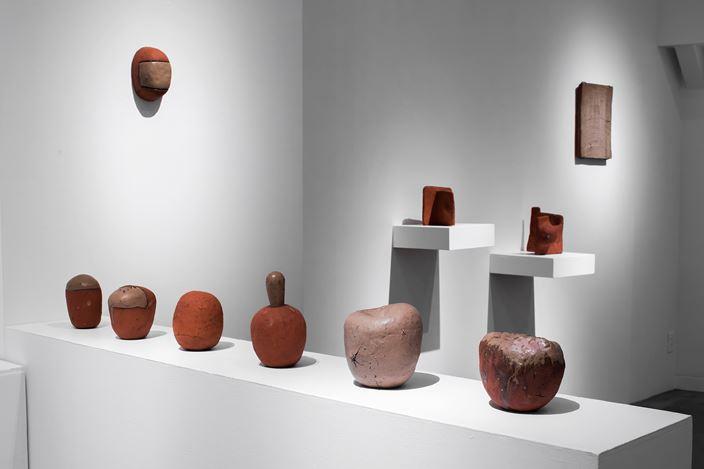 Exhibition view: Kim Hono, vol. 128 First soil, Gallery Nao Masaki, Nagoya (11 September–28 September 2020). Courtesy Gallery Nao Masaki.
