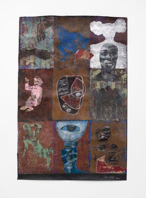 Thessalonian Green II by Ronald Muchatuta contemporary artwork