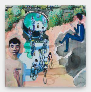 The Narrators by Miko Veldkamp contemporary artwork