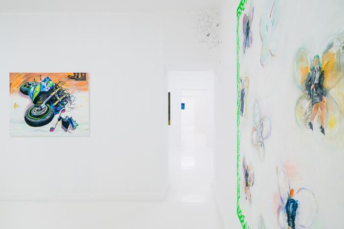 Exhibition view: Yan Xinyue,Summer Mist,Capsule Shanghai (August 12–September 26, 2020). Courtesy Capsule Shanghai.
