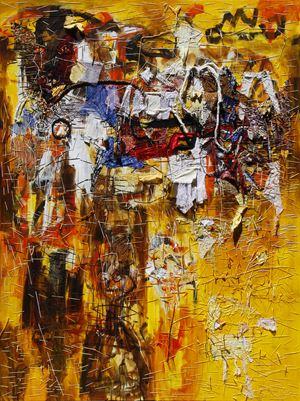 Moksha by Gatot Pujiarto contemporary artwork