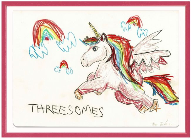 Threesomes by The Connor Brothers contemporary artwork