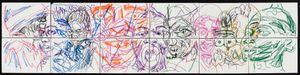 (Emotions of colour (P2) by Pierre Mukeba contemporary artwork
