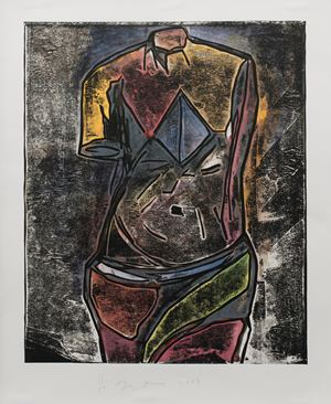 The Little One (1st version) by Jim Dine contemporary artwork print