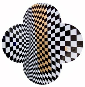 Crystal Palace by Max Gimblett contemporary artwork