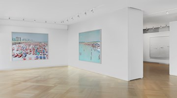 Contemporary art exhibition, Massimo Vitali, Short Stories at Mazzoleni, London