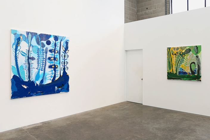 Exhibition view: John Pule, OHI, Jonathan Smart Gallery, Christchurch (3 August–26 August 2017). Courtesy Jonathan Smart Gallery.