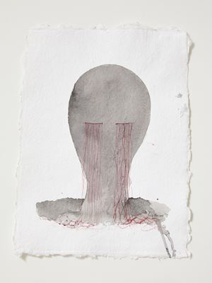 Head[case] working drawing 56 by Julia Morison contemporary artwork